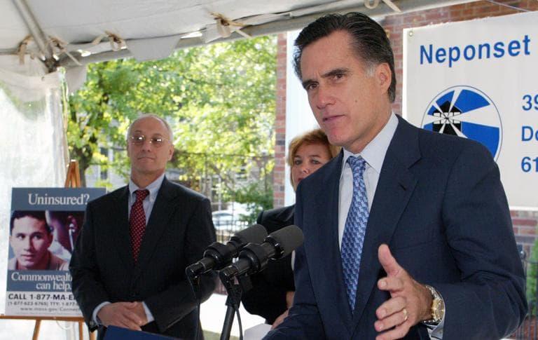 Former Massachusetts Gov. Mitt Romney (AP)