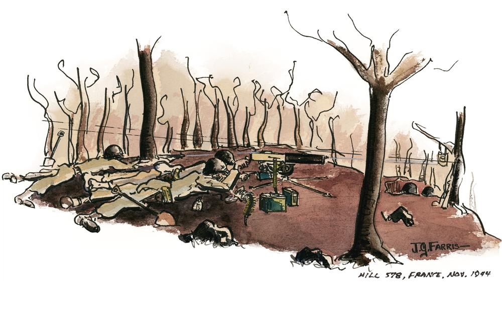 013b03aec Remembering World War II Through Watercolor | Here & Now