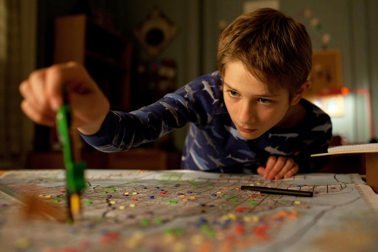 """Thomas Horn portrays Oskar Schell in a scene from """"Extremely Loud & Incredibly Close ."""" (AP)"""