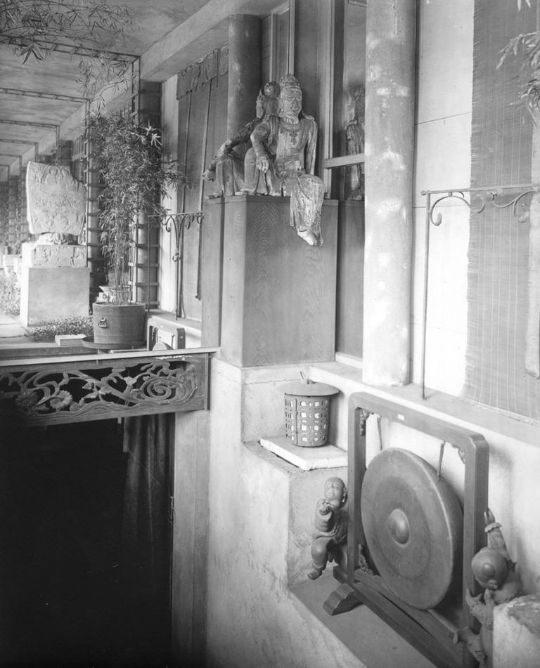 The Chinese loggia, in 1926 (Courtesy)