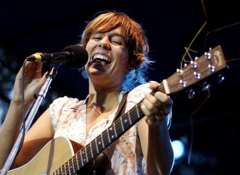 Madi Diaz performs at the Newport Folk Festival in 2007. (AP)