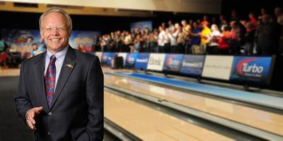 Gary Thorne already looks at home lane-side. (Photo Courtesy of the PBA)