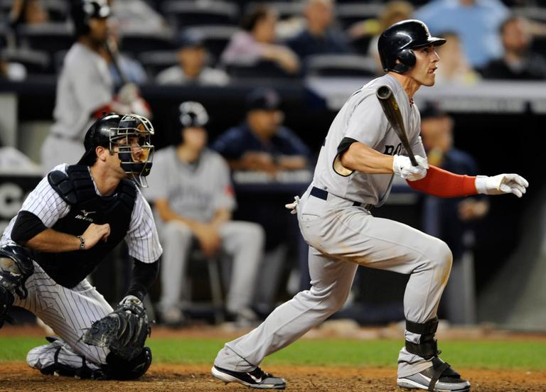 Jacoby Ellsbury, 28, was named the American League Comeback Player of the Year and finished second in AL MVP voting last year. (AP)