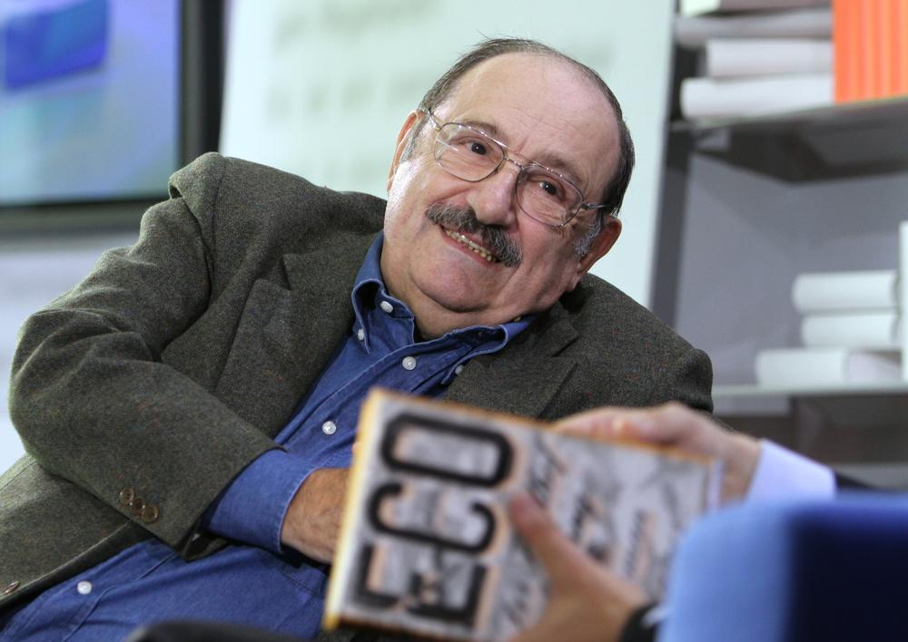 "Italian novelist Umberto Eco's 2011 book, "" The Prague Cemetery,"" is one of three foreign book recommendations by Jim Kates of ZephYr Press. (AP/Katja Lenz)"
