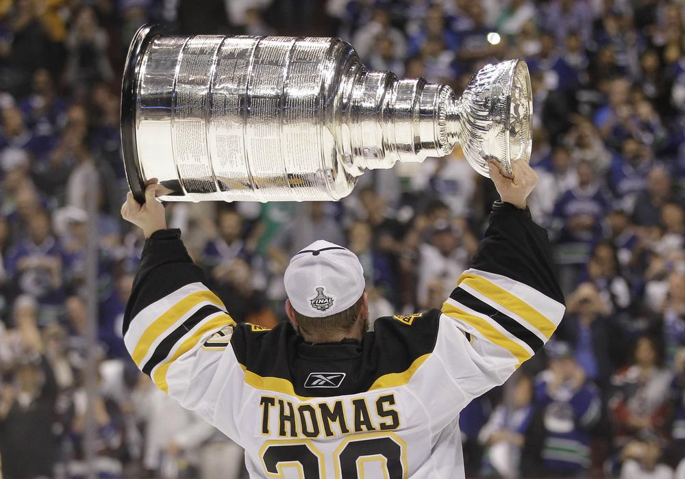The Bruins won the Stanley Cup in 2011. Apparently that makes Boston a Hockey Town, at least until someone else wins a title. (AP)
