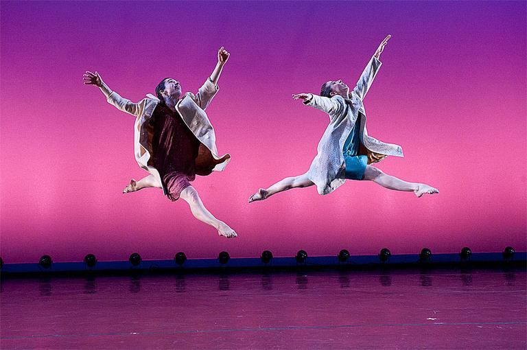 "Dancers perform in a production of ""Everything Is Getting Better All The Time."" (Photo: Christopher Duggan)"