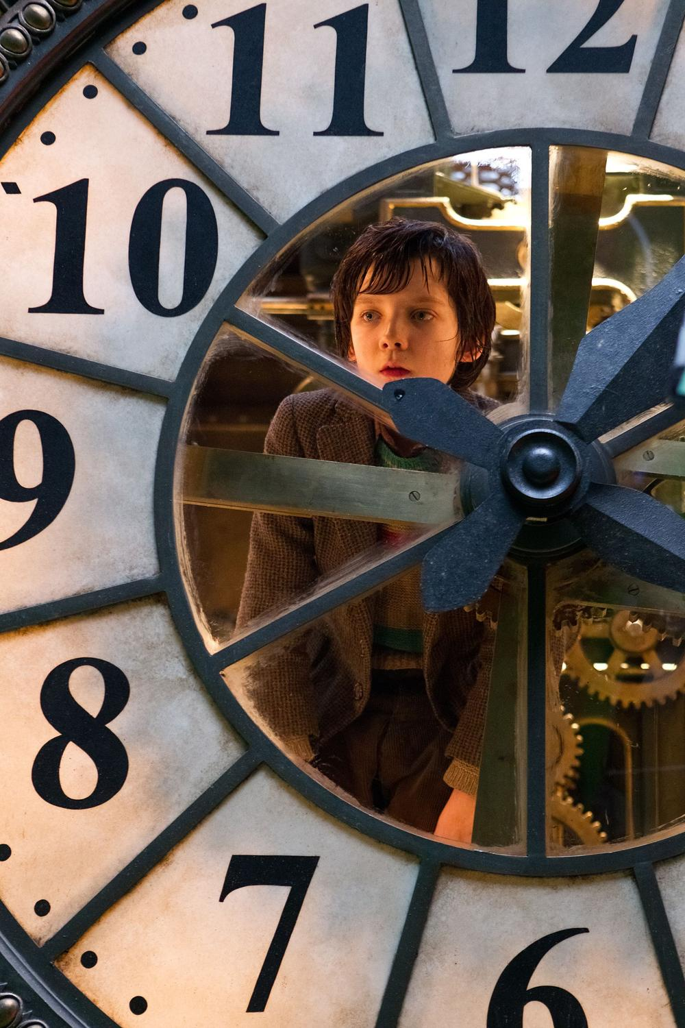 "Asa Butterfield portrays Hugo Cabret in a scene from ""Hugo."" (AP/Paramount Pictures)"