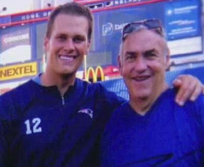 Brady and his mentor, Tom Martinez (Facebook)