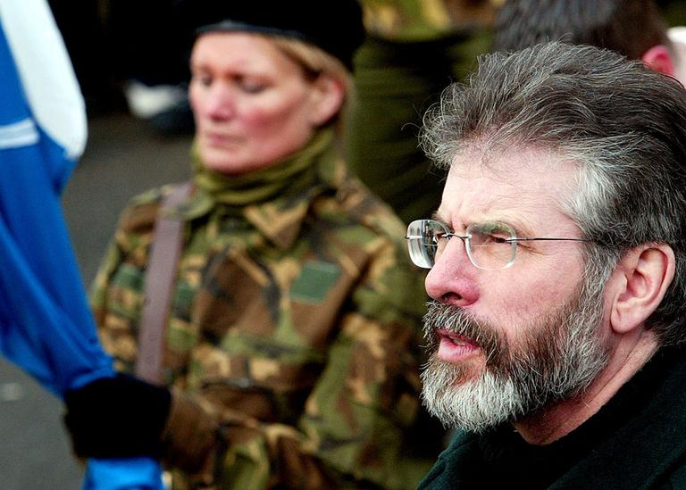 Britain claims BC's recordings may contain information about the killings of several people, including a mother of 10. One former IRA member says Sinn Féin leader Gerry Adams (seen here in 2005) ordered that murder. (AP)