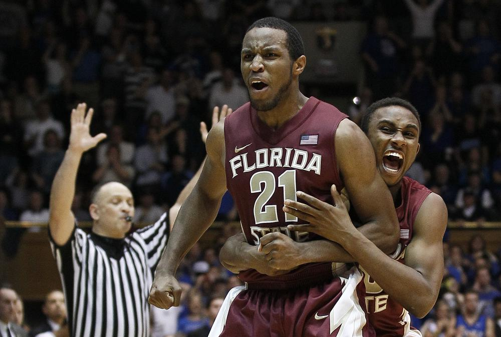 Florida State recently knocked off perennial powerhouses Duke and North Carolina. Those upsets have helped lift the Seminoles to the top of the ACC standings. (AP)