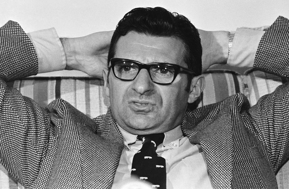 """Joe Paterno, pictured here in 1971, said shortly before his death that he """"should have done more"""" about the allegations against Jerry Sandusky. (AP)"""