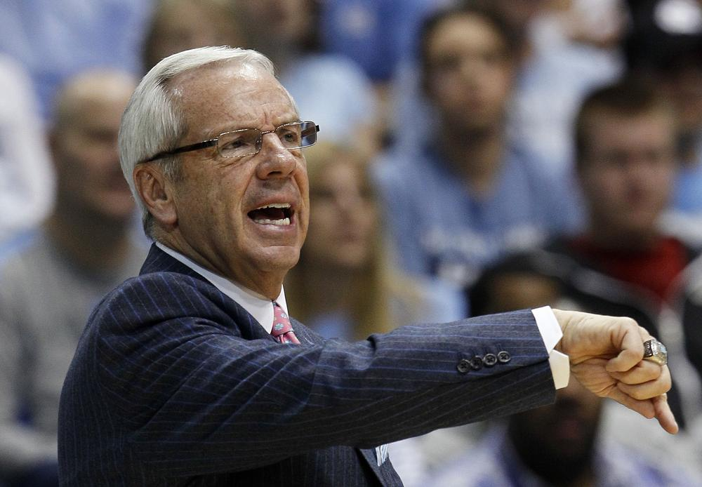 Before he was a head coach, Roy Williams coached the JV team at North Carolina. And as long as he's at North Carolina, the JV team will be also. (AP)