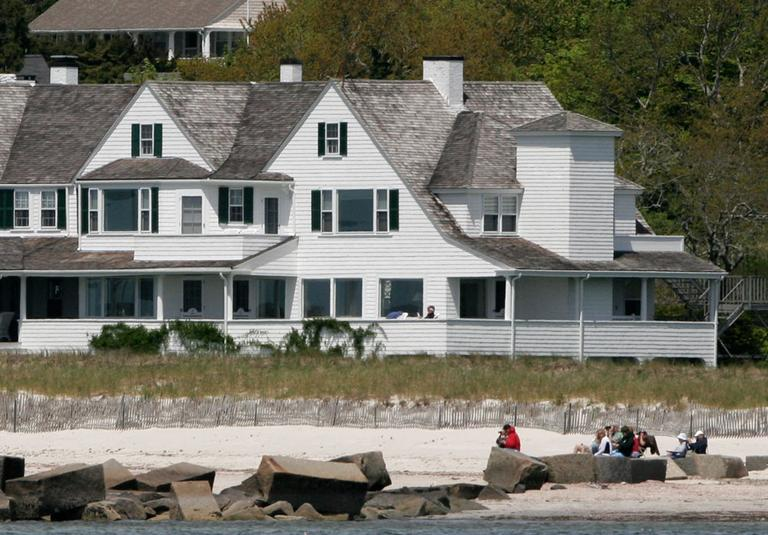 A view of the Kennedy compound in Hyannisport in 2008 (AP)