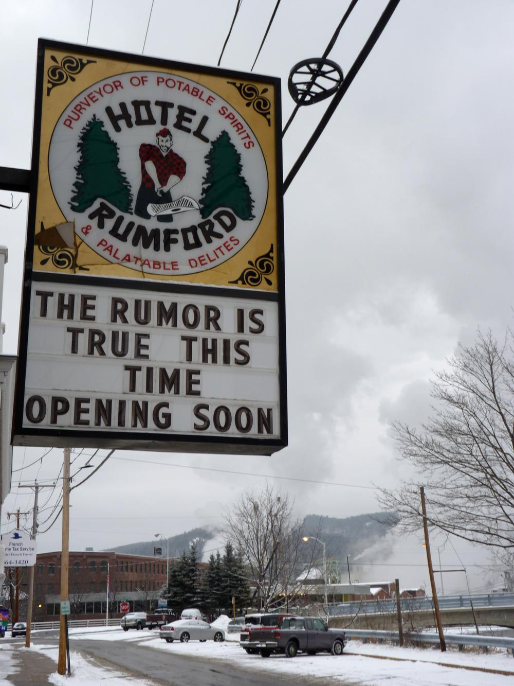 This downtown hotel hopes to re-open next year to take advantage of the business that races bring to town. (Sam Evans-Brown)