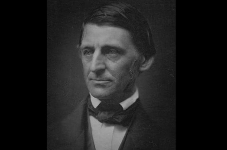 Ralph Waldo Emerson, circa 1857. (George Eastman House Collection)