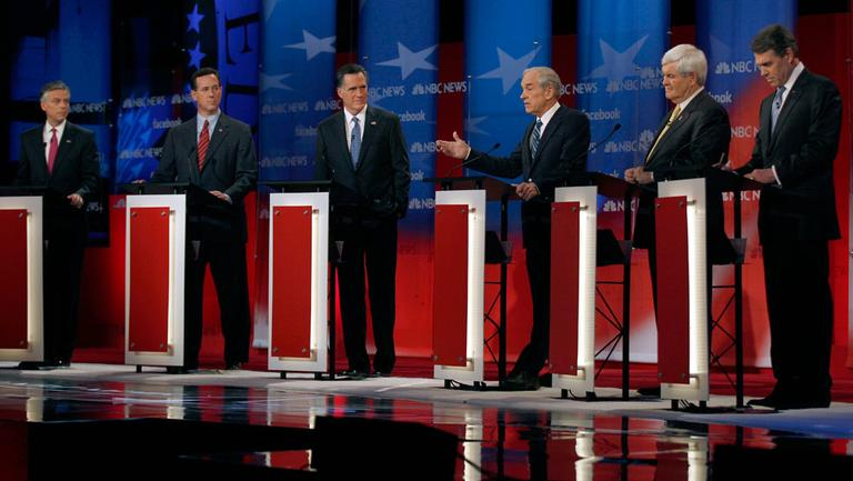 It's been a debate-heavy primary campaign, the latest of which was Sunday morning, in Concord, N.H. (AP)