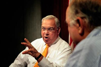 Mayor Menino in a September interview at WBUR