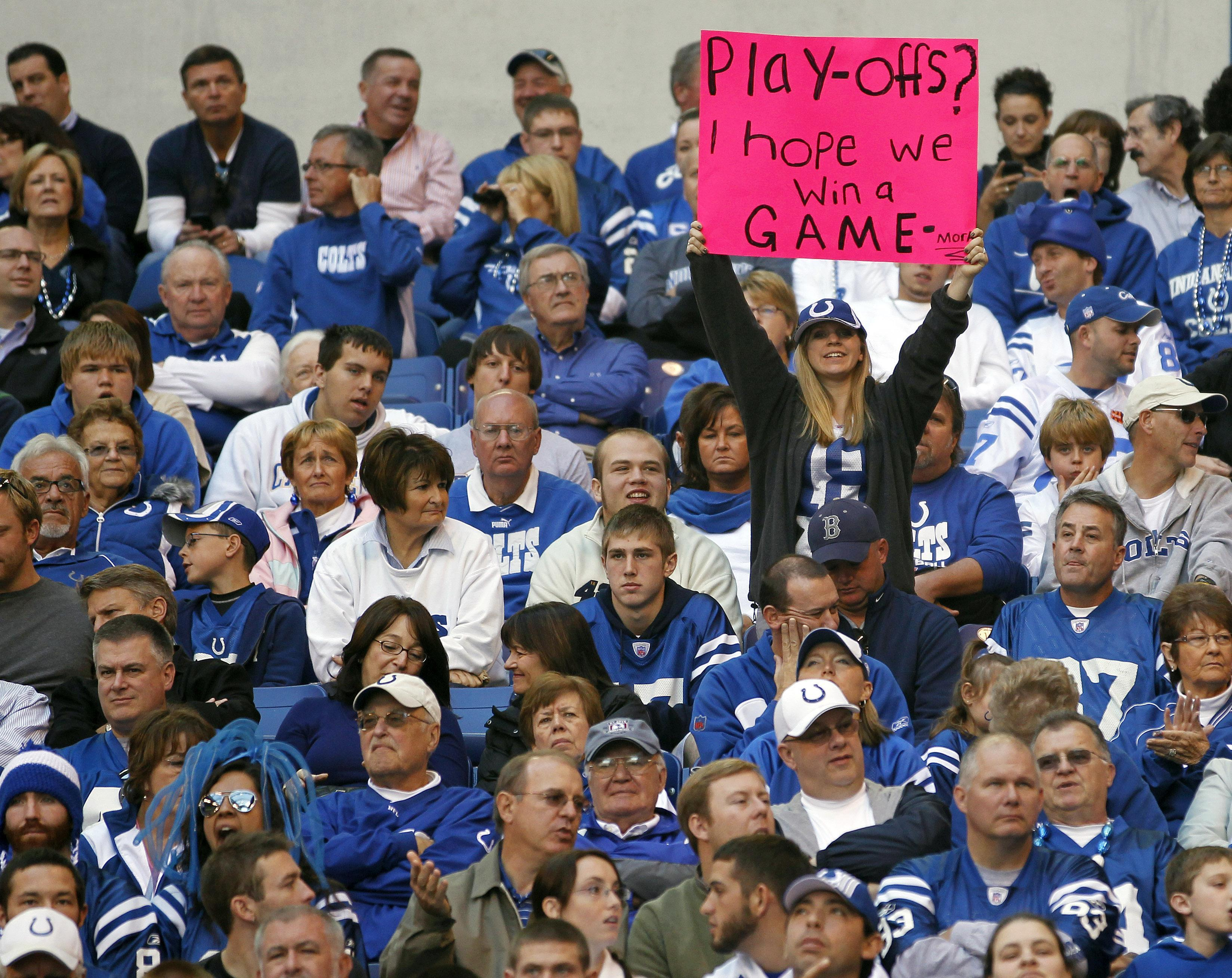 Discount Colts Fans Host AFC Nemesis | Only A Game
