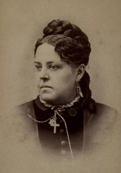 """Esther Howland, the """"mother of the modern valentine"""" (Courtesy of AAS)"""