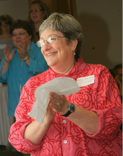 Betsy Neisner at the Cancer Connection's 10th Anniversary Celebration.