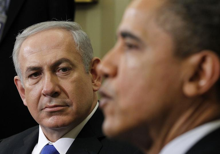 President Barack Obama meets with Israeli Prime Minister Benjamin Netanyahu, Monday, March, 5, 2012, in the Oval Office of the White House in Washington. (AP)