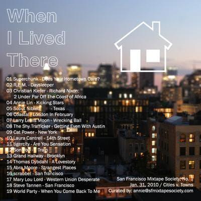 Annie Lin's mixtape cover. (Courtesy of Annie Lin)