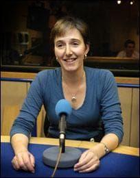 The BBC's Claire Bolderson. (Photo courtesy of the BBC)