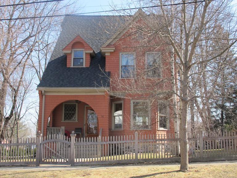 Kirsten Greenidge's grandparents lived in this house in Arlington. (Andrea Shea/WBUR)