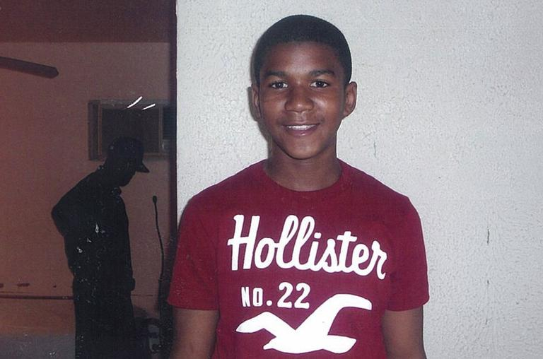 In this undated family photo, Trayvon Martin poses for a family photo. (AP)