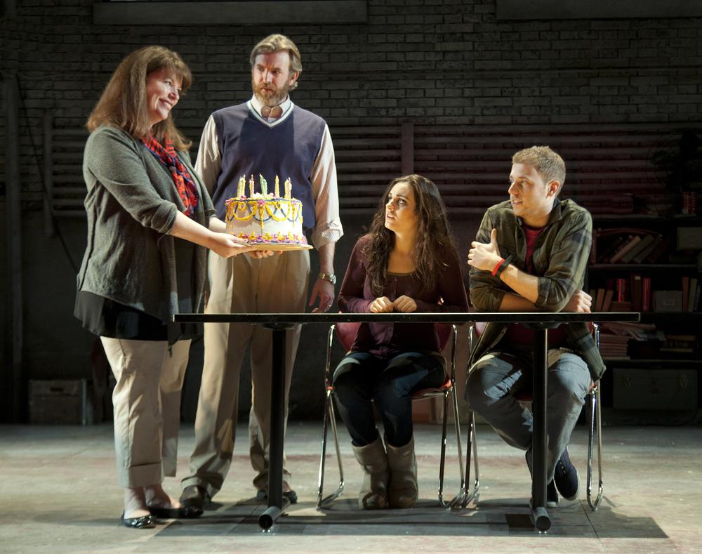 A scene from the SpeakEasy Stage Company production of Next to Normal, running March 9 – April 15 at the Boston Center for the Arts. (Saglio Photography Inc.)