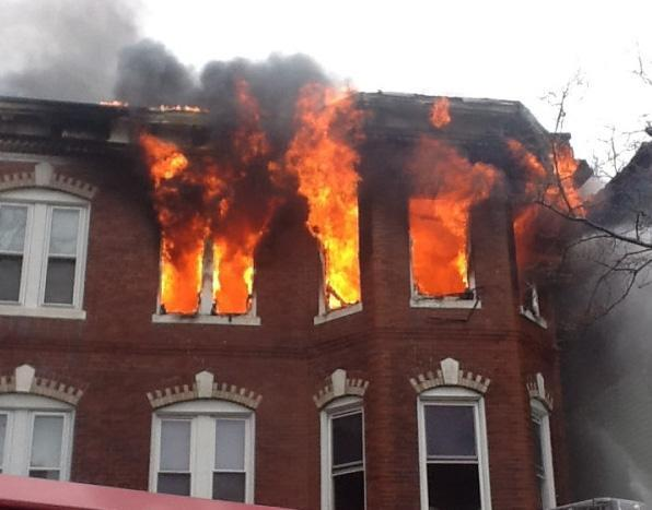 A Seven Alarm Fire Destroyed A Duplex On Chelsea Street In East Boston On Sunday