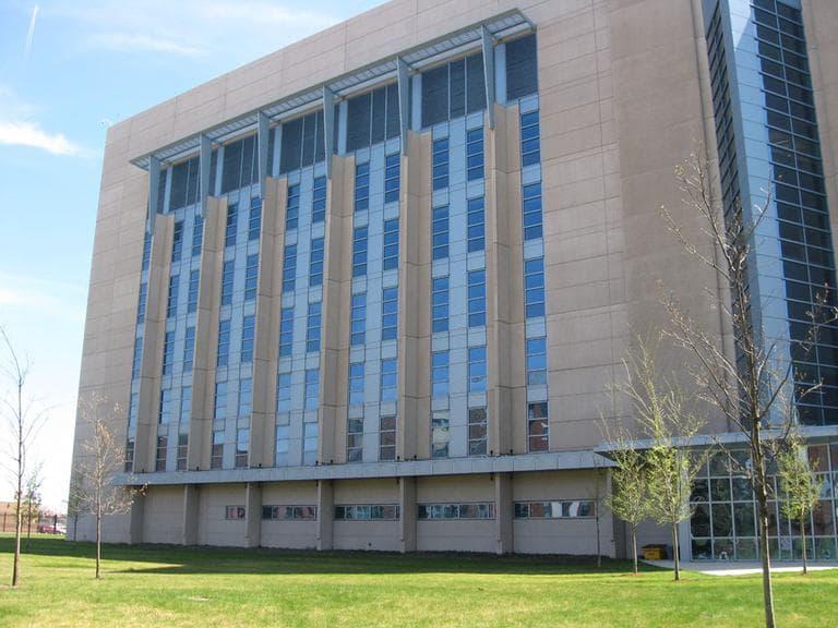 The Boston University National Emerging Infectious Diseases Laboratories (Lynn Jolicoeur for WBUR)