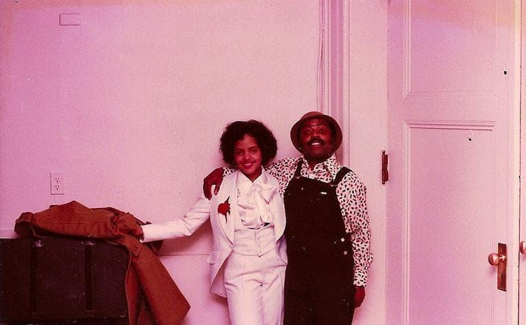 Terri Lyne Carrington with jazz musician Roy Haynes (Courtesy Terri Lyne Carrington)
