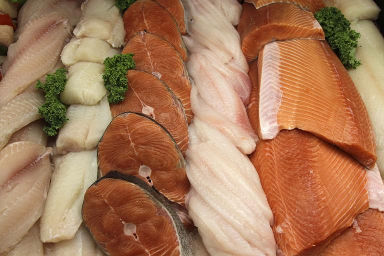 File photo, the seafood counter at Whole Foods Market in Hillsboro, Ore. (AP)