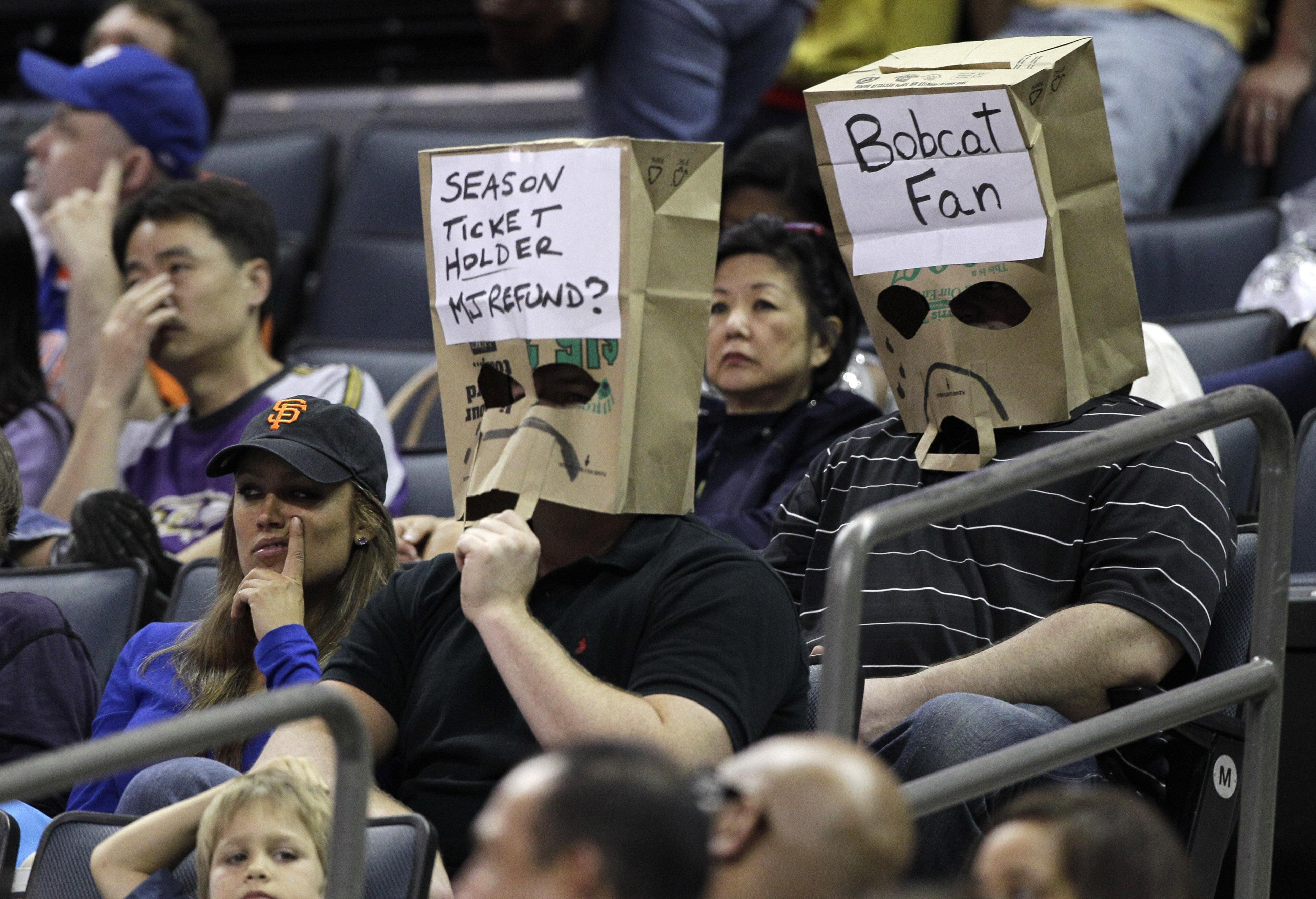 Charlotte Bobcats Secure Worst Record In Nba History Only A Game