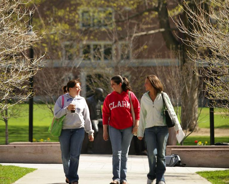 Clark University in Worcester (Courtesy Clark University)