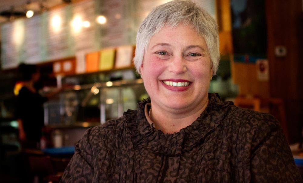 Mass. 4th congressional district Republican candidate Dr. Elizabeth Childs. (Jesse Costa/WBUR)