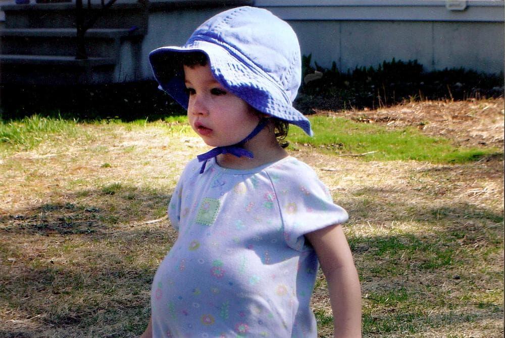 Riley as a toddler (Courtesy of Kristen Davis)