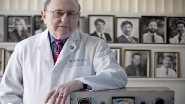 Dr. Bernard Lown (from a 2008 YouTube film)