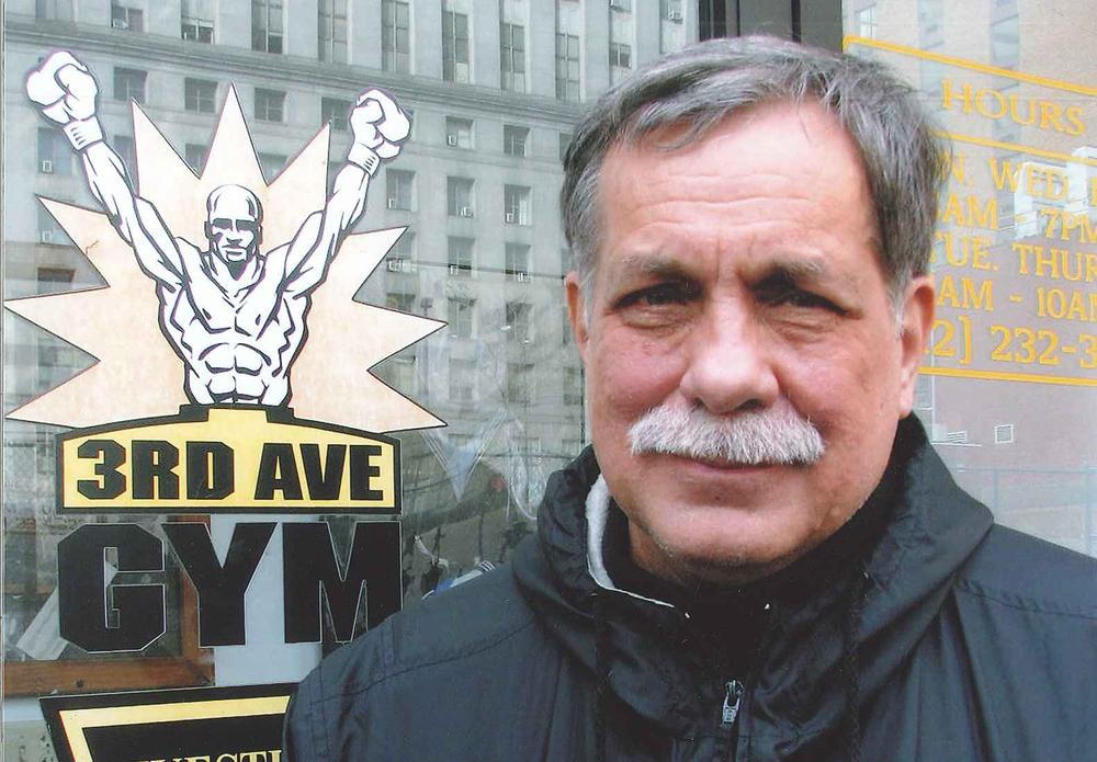Jimmy Cvetic runs the gym at Third and Ross. Most people don't even realize it's there.