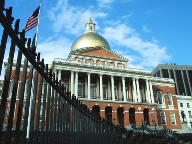 The Massachusetts State House on Beacon Hill. (koalie/Flickr)
