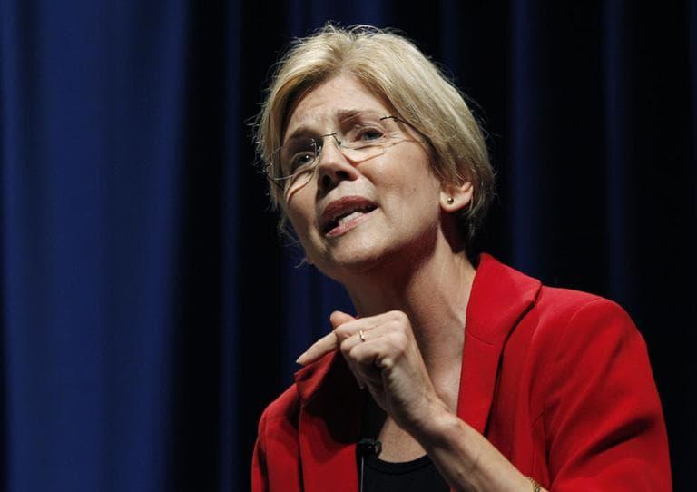 Massachusetts Democratic candidate for U.S. Senate Elizabeth Warren (AP)