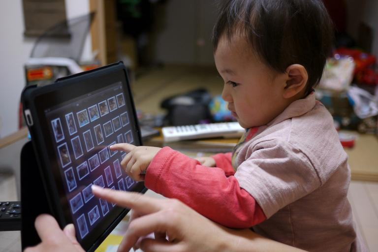 What happens when toddlers take to iPads? (S_Ishimaru/Flickr)