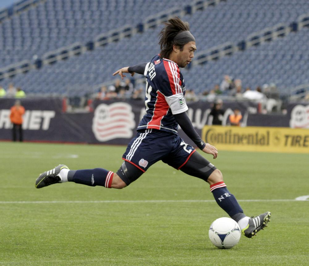 The New England Revolution's Lee Nguyen has played soccer on three continents and is a citizen of two countries. (AP)
