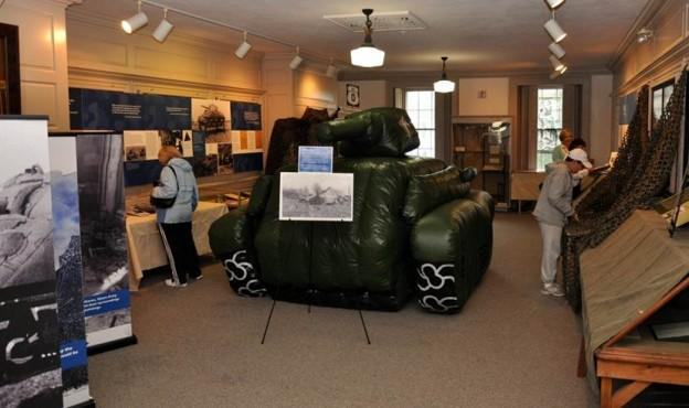 A traveling exhibit on the Ghost Army. (Courtesy)