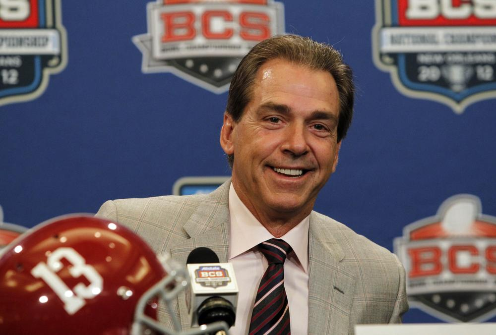 Alabama head coach Nick Saban has guided Alabama to two national titles in the BCS Era. The path to the championship will change when a playoff system is introduced for the 2014 season. (AP)