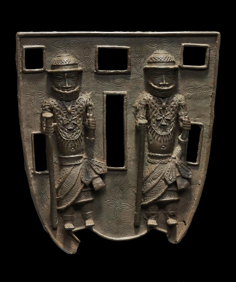 "Benin kingdom, Nigeria, 16th/€""17th century, Robert Owen Lehman Collection (Courtesy, Museum of Fine Arts, Boston)"
