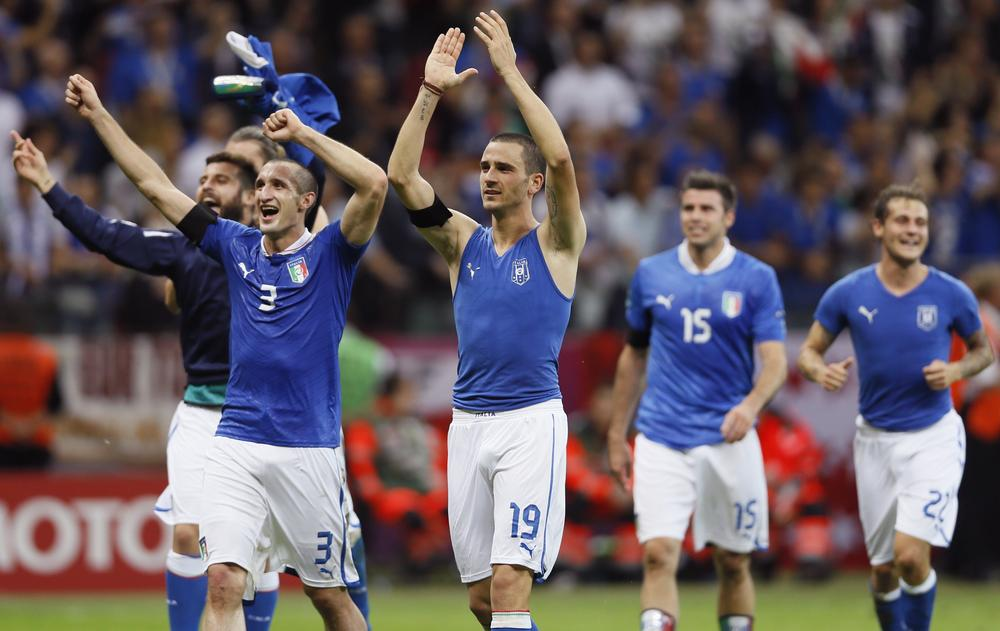 Italy shocked the soccer world by beating Germany to reach the Euro finals, and Charlie Pierce is rooting for the Azurri to take home the title. (AP)