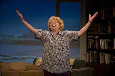 Actress Debra Jo Rupp plays Dr. Ruth (Courtesy Kevin Sprague)