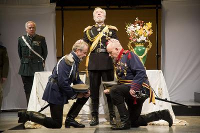 'King Lear' in performance (Courtesy Kevin Sprague)